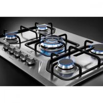 Cooktop 5 Bocas Electrolux GT75X Acendimento super automático -