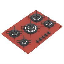 Cooktop A Gás 5 Bocas Glass Penta 94708281 Tramontina -