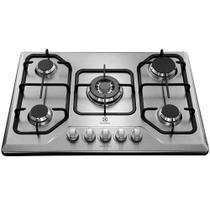 Cooktop a Gás 5 Bocas Tripla Chama Electrolux GT75X Bivolt -