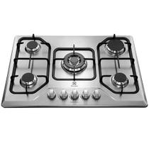 Cooktop a Gás 5 Queimadores Electrolux GT75X Tripla Chama Inox Bivolt 23755DBI089 -