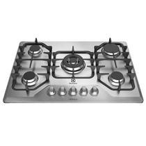Cooktop a Gás 5 Queimadores Inox GF75X  Electrolux -