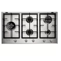 Cooktop a Gás Brastemp Gourmand 5 Queimadores Inox 90 cm 220V BDK90DRBNA -