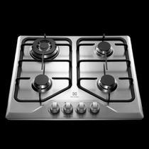 Cooktop a Gás Electrolux 4 Queimadores GT60X Tripla Chama Inox Bivolt 23604DBI089 -