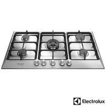 Cooktop à Gás Electrolux Home Pro com 05 Bocas, Acendimento superautomático e Master Chama - GF90X -