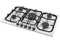 Cooktop a Gás Inox 5 Bocas Tripla-Chama - Electrolux GX75T