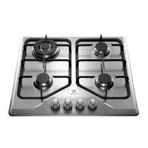 Cooktop Electrolux 4 Bocas a Gás Superautomático Tripla Chama Mesa em Aço GT60X Inox -