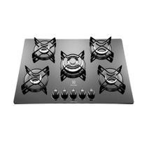 Cooktop Electrolux GC75V 5 Bocas Acendimento Superautomático -