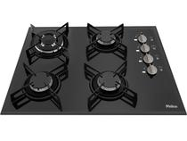 Cooktop Philco 4 Bocas Cook Chef 4 TC Preto Bivolt