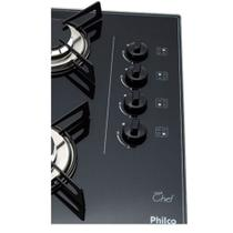 Cooktop Philco 4 Bocas Vidro Cook Chef 5W