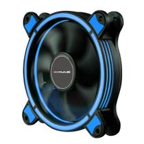 Cooler 120mm Led Ring Pc Gamer Fan Led Azul Mymax Spectrum (MYC/FC-SP12025/BL) -