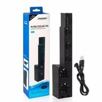 Cooler Exaustor 5 Ventoinhas Para Playstation 4 Ps4 Pro video game - Dobe