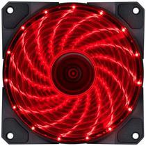Cooler Fan VX 12 x 12 cm 15 Leds Vermelho - Vinik -