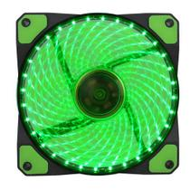 Cooler Gabinete PC Gamer 120mm LED Verde GF12G Gamemax