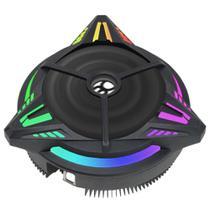 Cooler Gamer Bluecase (AMD / Intel) - LED RGB - Universal - BCG-07UARGB -
