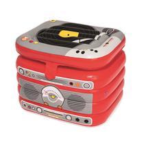 Cooler Inflavel De 31 Litros Bestway Em Formato De Radio Com Fechamento Superior E Estrutura Resistente 122010 - Nautika