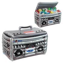 Cooler Inflável Radio Divertido para Piscina - Bel Fix