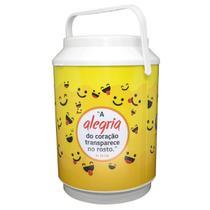 Cooler para 10 latas - Alegria - Cemporcentogospel