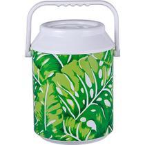 Cooler para 12 Anabell - Estampa Folhagem -