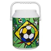 Cooler para 12 Latas Romero Britto Futebol - Anabell Coolers -