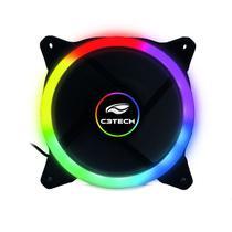 Cooler para Gabinete 120X120 LED 5 Cores C3Tech F7-L120M -