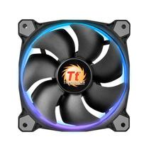 Cooler para Gabinete TT Riing 12 Radiator FAN 256 Color C/3 LED SWITCH CL-F042-PL12SW-B - Thermaltake