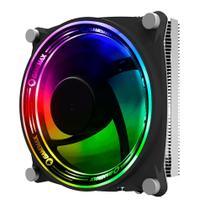 Cooler Para Processador Gamemax Gamma 300 ARGB Rainbow Fan 120mm Intel / AMD TDP 135W -