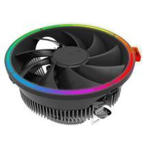 Cooler para Processador Gamma 200 Rainbow RGB 1800 RPM Intel AMD Gamemax -