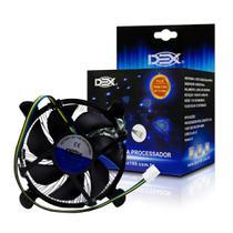 Cooler para Processador Intel 1155/1156/1150 92mm DX-1150 DEX -