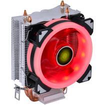 Cooler para processador vx gaming blitzar compativel com intel/amd com pwm tdp 95w led vermelho - cp300 - Vinik