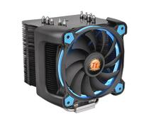 Cooler Processador FAN Thermaltake RIING SILENT 12 Pro Blue Aluminio CL-P021-CA12BU-A -