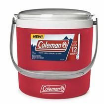 Cooler Térmico Coleman Circle 8,5L Vermelho até 12 Latas -