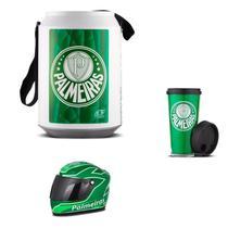 Cooler Térmico Palmeiras Mini Capacete E Copo - Pro Tork