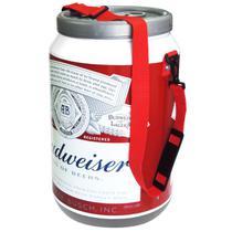 Cooler Térmico Para Bebidas 24 Latas com Alça - Cerveja Budweiser - Artcooler