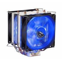 Cooler Universal Cpu DUPLO azul Intel Amd 1150 AM3 FM DX-9100d - DEX