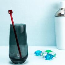 Copo Alto Drink Passion de Vidro Fumê 480 ml - ETNA