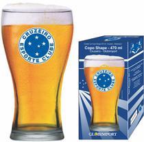 Copo Cerveja Cruzeiro Brasão Logo Shape 470ml - Globoimport - Globimport