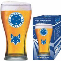 Copo Cerveja Cruzeiro Raposa Brasão Shape 470ml Globoimport - Globimport