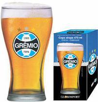 Copo Cerveja Grêmio FBPA Brasão Shape 470ml - Globoimport - Globimport