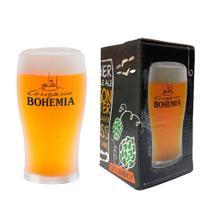 Copo Cervejaria Bohemia 340ml - Embalagem Individual - Ambev