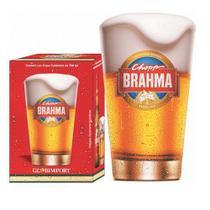 Copo CHOPP Brahma em Vidro 350ML Globimport -