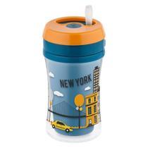 Copo com Canudo - 270 ml - Fun Cup - Azul - (+ 18 meses) - Nuk -