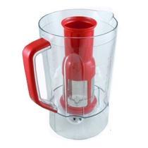 Copo Cristal Vermelho Filtro Liquidificador Mondial L-1000 R -