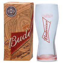 Copo De Cerveja Budweiser Chopp 400ml - Caixa Individual - Ambev
