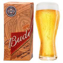 Copo de cerveja Budweiser Litogragada 400ml litografada - Com caixa Orignal - Ambev
