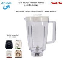 Copo do liquidificador walita daily - tampa branca código: 4456 -