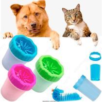 Copo Limpador Limpa Patas Patinhas De Cachorro Cão Pet - Ss -