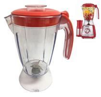 Copo Liquidificador Mondial Eletronic Inox Filter RED 850w Vermelho -