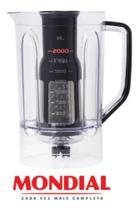 Copo Liquidificador Mondial L1000 Preto Inox 12vel Original -