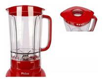 Copo Liquidificador Philco Ph900 Vermelho - Original -