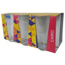 Copo Long Drink 350mL c/6 Cairo Colorex 26440201196324 -